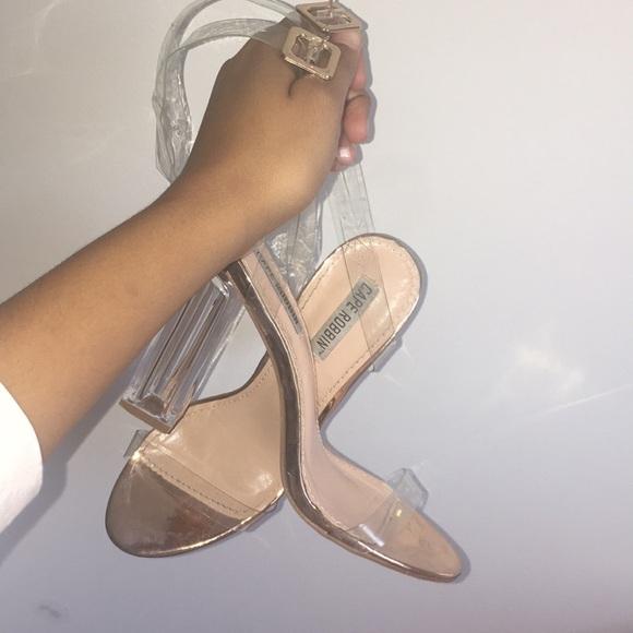 a4e9975f022 Fashion Nova Shoes | Clear Heels | Poshmark